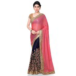 Zari Work Saree