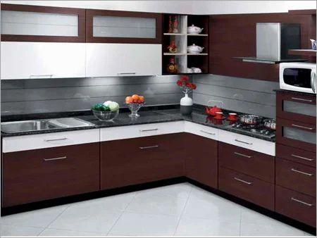 Modern Modular Kitchen Living Room Plastic Furniture Ayurveda