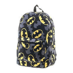 Batman Printed School Bag