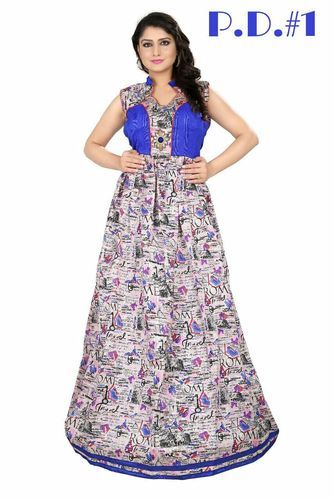 c5889df0e4 XL Same As Picture Fashion Designer Latest Party Wear Gown