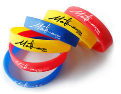 Two in One Silicone Wristband