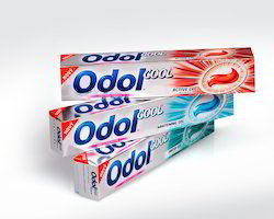 Tooth Paste Printed boxes