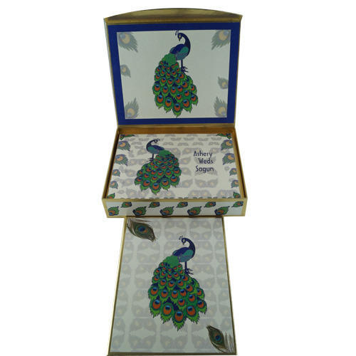 Invitation Wedding Card Box at Rs 180 piece – Wedding Cards Boxes