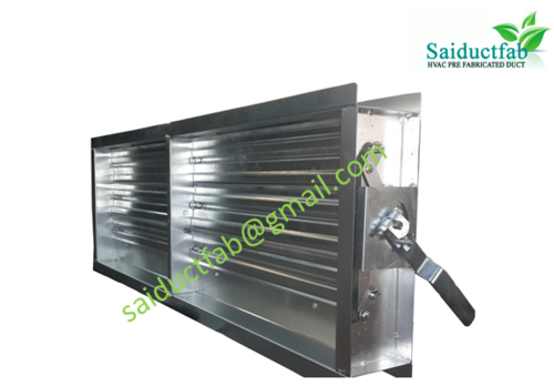 Aluminium Grill And Diffuser Duct Dampers Manufacturer