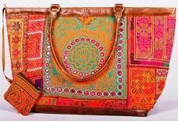 Vintage Banjara Bucket Bag