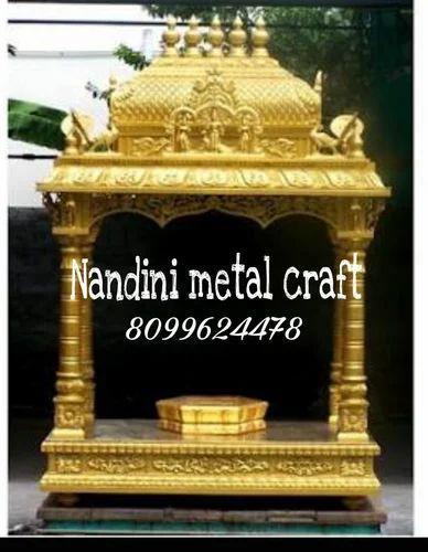 Brass Items Pooja Mandapam Brass Manufacturer From Hyderabad