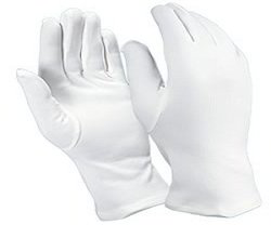 ESD Nylon Double Knit Inspection Gloves