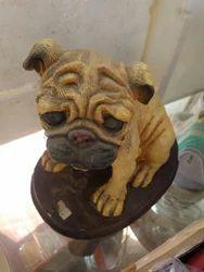 Pug Show Piece