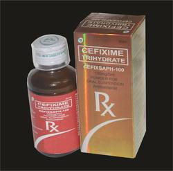 Cefixime Oral Suspension 100mg/5ml