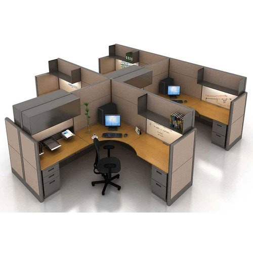 Cubicle Workstation Desking System
