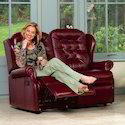Recliners with Leather Seat