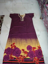Print Gown