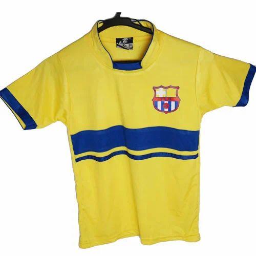 75d315b901bd Yellow Kids Football Jersey