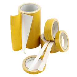 CNC Yellow Double Side Cloth Tape, For Sealing