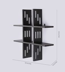 Straight Line Wall Shelves