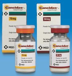 Caspofungin 50 mg/Caspofungin 70 mg