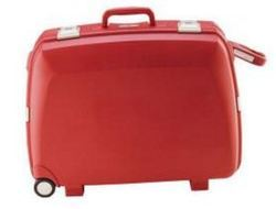 VIP Elanza Dlx Suitcase Red