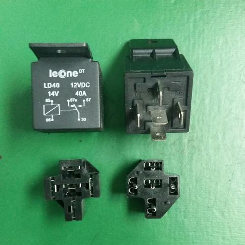 Automotive Relay and Socket