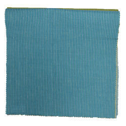 Blue Striped Fabric