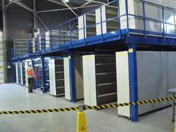 Two Tier Rack With Mezzanine