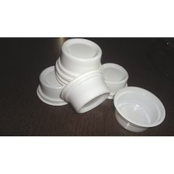 White Disposable Ice Cream Cup