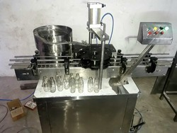 Automatic Glass Bottle Crown Capping Machine