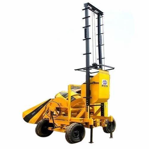 2 Tower Lift Concrete Mixer Machine Price Cast Iron 480