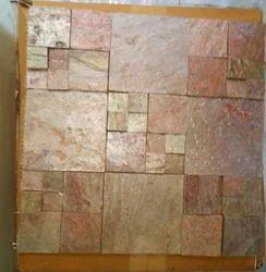 Copper Slate Set Pattern Mosaic, 0-5 mm
