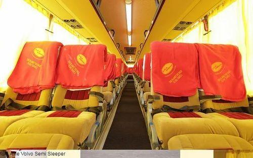Bus Hitech Air Suspension Non Ac Sleeper Seater Bus Rental Service