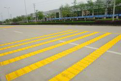 High Gloss Latex Based Thermoplastic Road Marking Painting Service