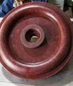 Red Polymer Wheel