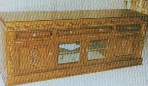 Tv Stand Made Of Teak Wood