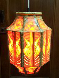 Hanging Dholak Lamp