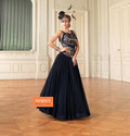 Amazing Black Color Evening Gowns
