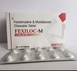 Fexofenadine & Montelukast Chewable Tablet