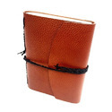 Embrossed Leather Diary