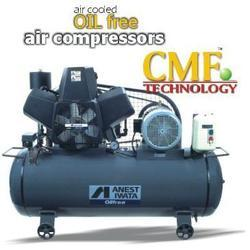 Anest Iwata Motherson Oil Free Air Compressor