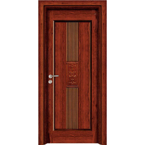 Hinged Brown Main Gate Wooden Door