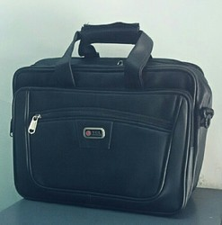 Black Leather Office Bags