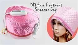 Hair Beauty Nourishing Steamer Thermal Treatment Cap-Pink
