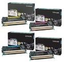 Lexmark Toner Cartridge X746de High Yield Black With Standard Yield Color Set