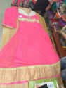 Anarkali Pattern Dress