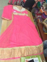Anarkali Pattern Dress