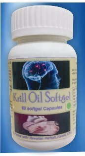 Krill Oil Softgels Capsules