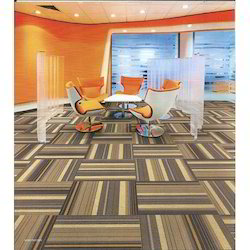 EXCEL Sand Brown Carpet Tiles