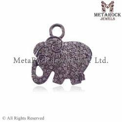 Elephant Design Pendant Charm