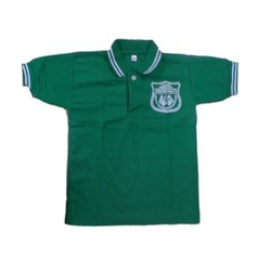 Green Cotton School T Shirt