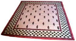 Block Printed Cotton Bed Cover Sanganeri Print