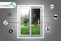 UPVC Single Openable Window
