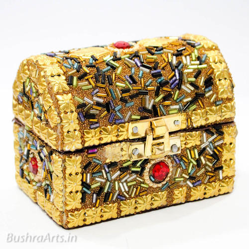 Mughal Design Sandook Jewellery Box Handcrafted Haath Se Bane